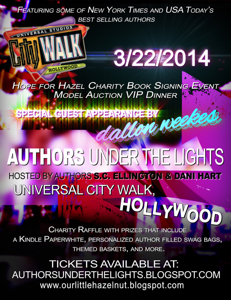 Authors Under the Lights Booksigning and Charity Event